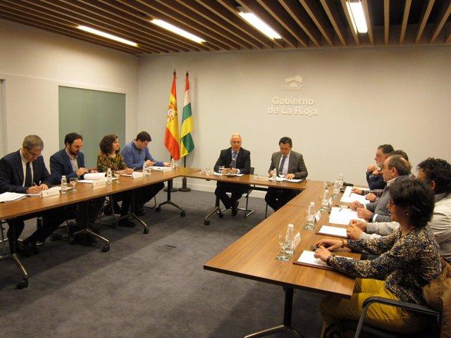 Consejo Riojano de Pequeños Municipios con Ceniceros
