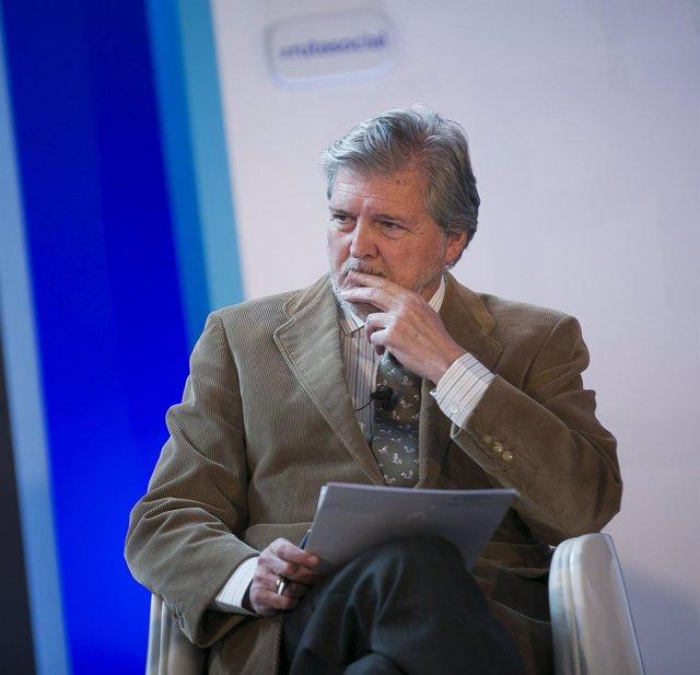 El ministro de Educación, Íñigo Méndez de Vigo