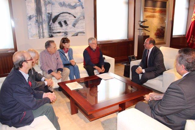 Reunión del presidente con Plataforma Pro-Soterramiento de las Vías