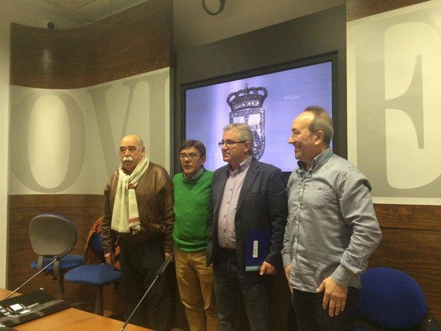 Presentación del Premio 'Moscón de Oro'.