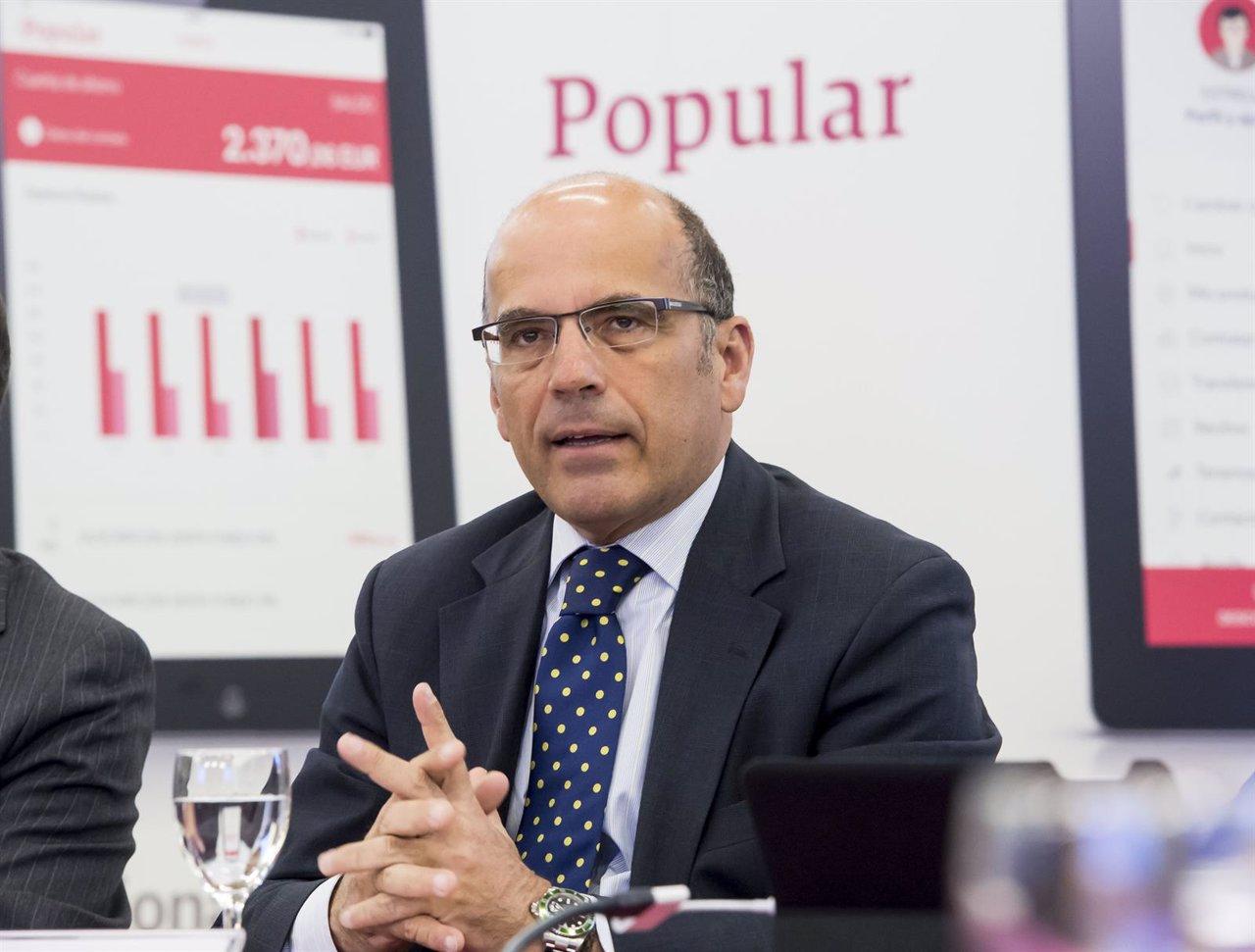El director general de Recursos Técnicos de Popular, Fernando Rodríguez