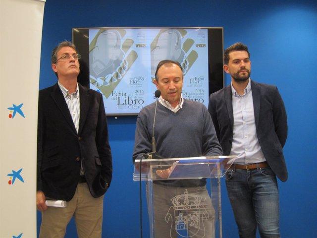 Presentación XVII Feria del Libro de Cáceres