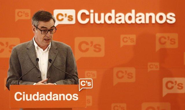 José Manuel Villegas, de Ciudadanos
