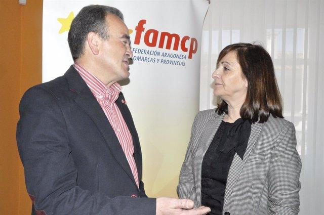 Juan Antonio Sánchez Quero y Carmen Sánchez