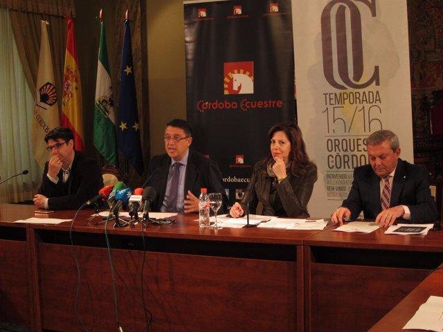 Presentación del espectáculo 'La música y el caballo andaluz'