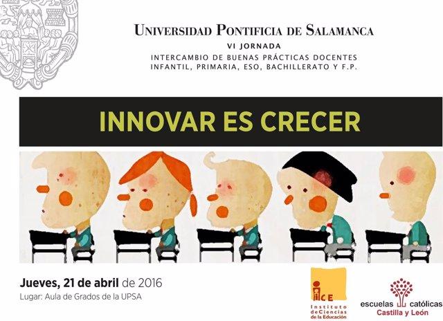 Cartel del concurso de Escuelas Católicas