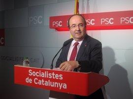"""Iceta alaba la """"claridad"""" de la propuesta del referéndum de EnComúPodem pero no la comparte"""