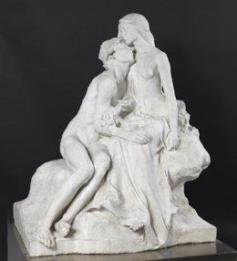 La obra escultórica 'Eclosión', de Miguel Blay