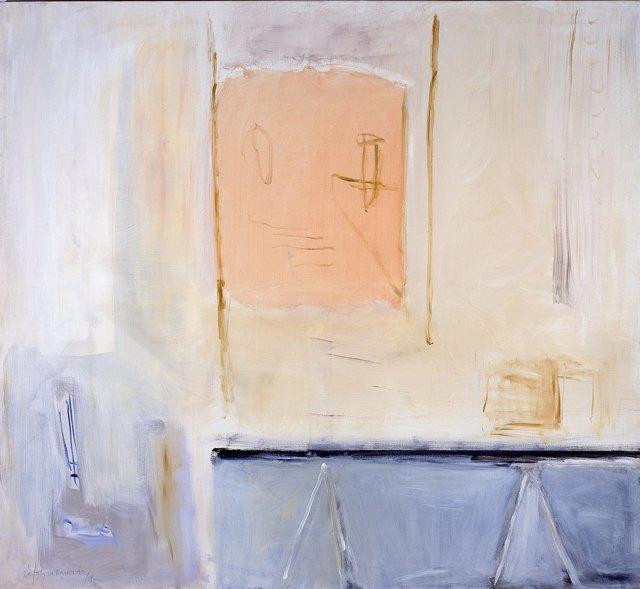 Pintura de Ràfols-Casamada 'El Taller' (1995)
