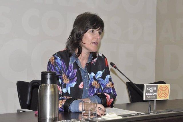 La diputada autonómica del PAR Elena Allué.