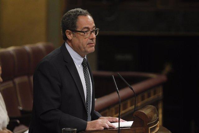 Pere Macias i Arau en el Congreso