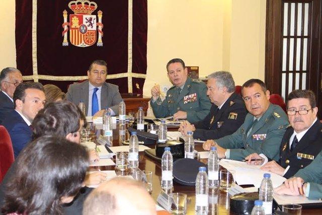 Reunión del Plan 'Rocío Seguro'.
