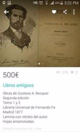 Libros a la venta en Wallapop