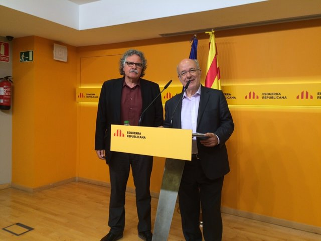Joan Tardà y Josep Maria Terricabras (ERC)