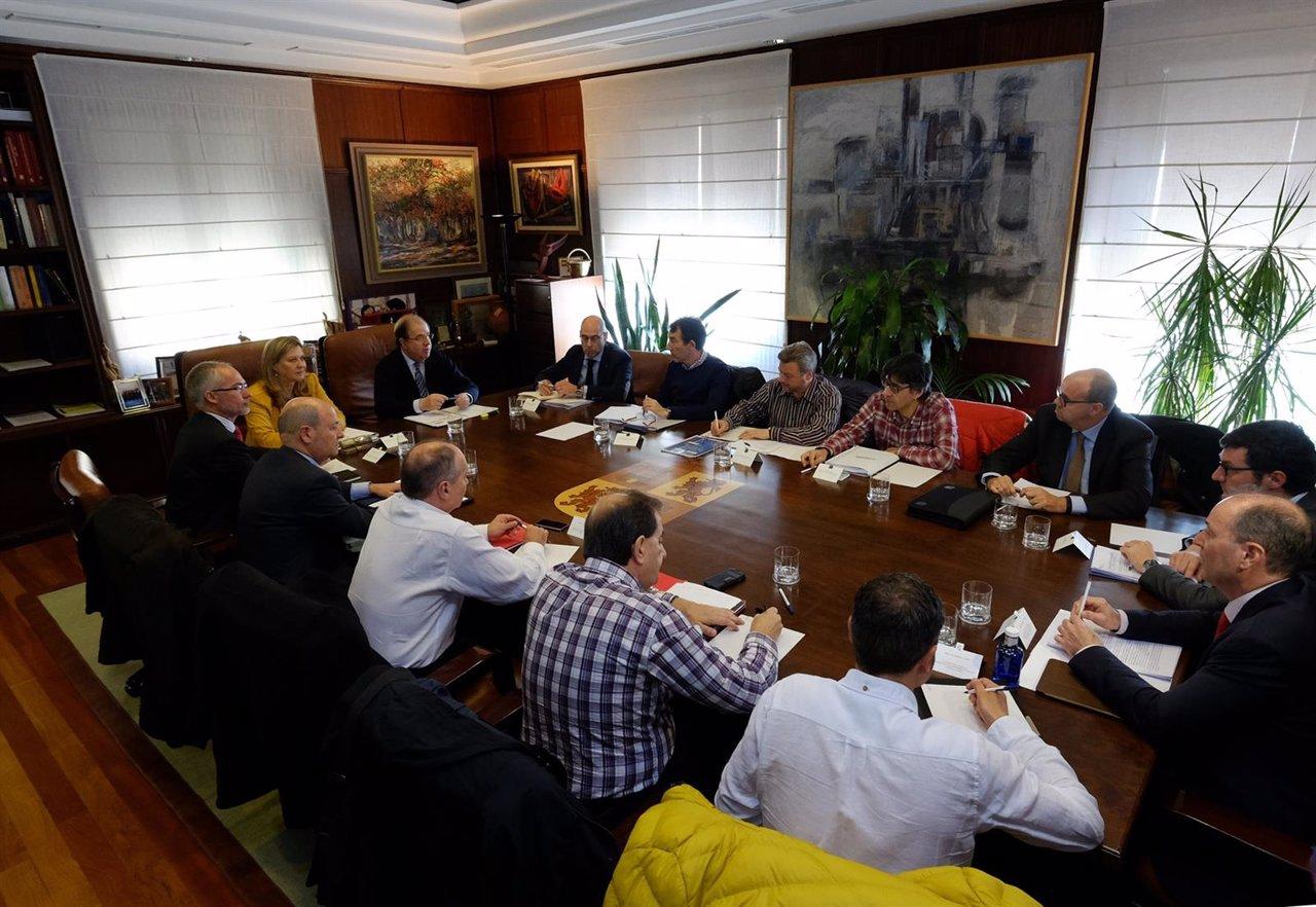 Reunión Junta Carbón