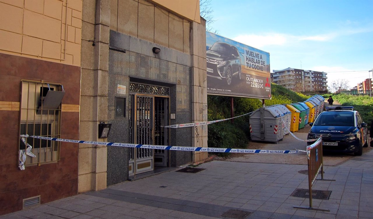Lugar donde ha fallecido la mujer de 48 años en Salamanca.