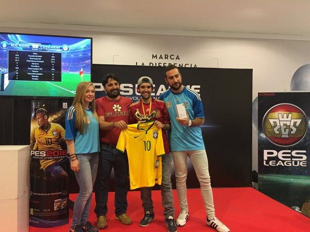 Ganador del PES en Madrid 2016