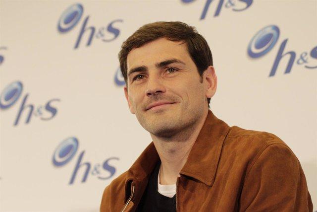 Iker Casillas en un evento de HS en Madrid