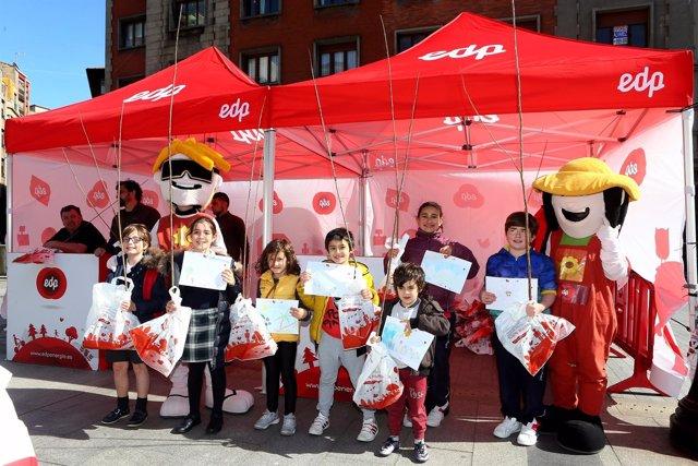 Varios niños disfrutando del programa 'Viva Nuestra Energía'.