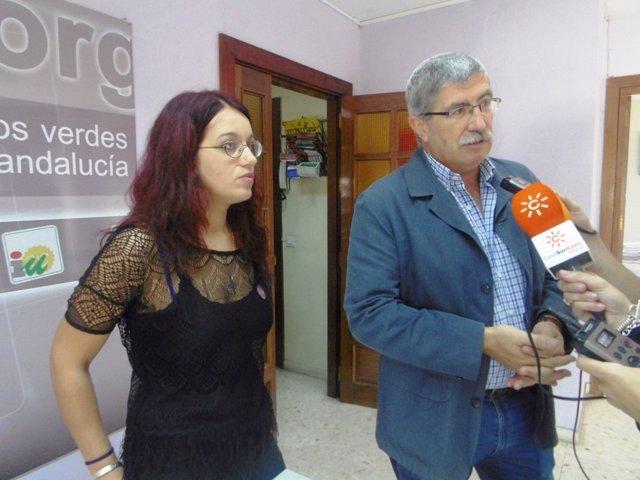 Juan Manuel Arazola y Carmen Martín.
