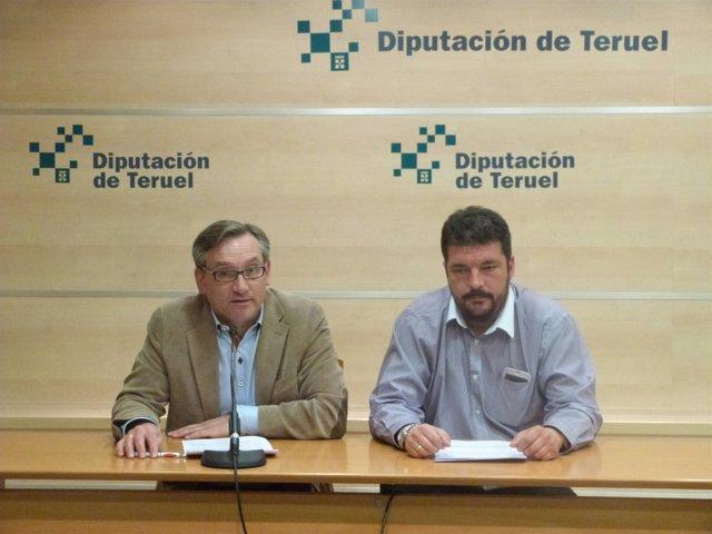 Joaquín Juste y José Herrero han presentado las ayudas en acción social de DPT