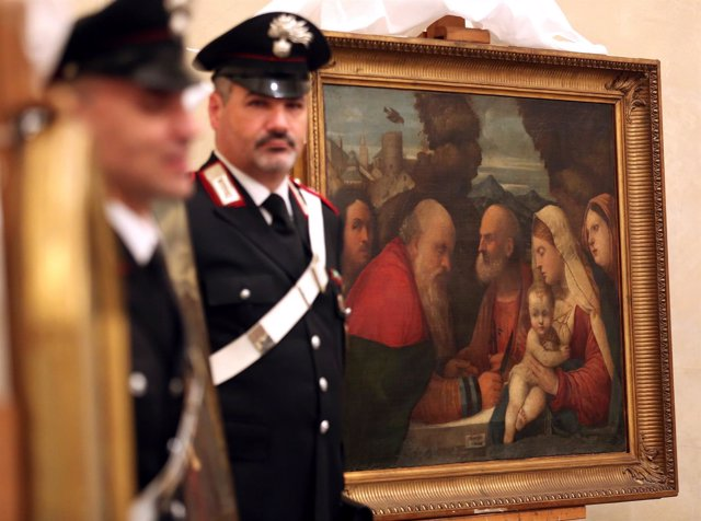 Obras robadas por los nazis en Italia
