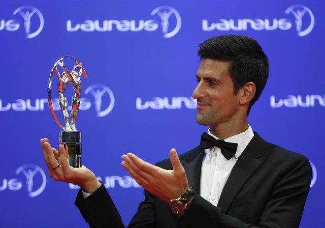 Novak Djokovic Laureus deportista año premio