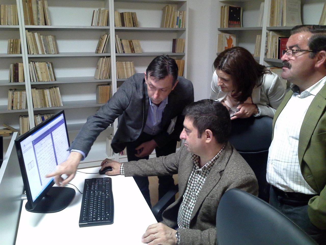 Inauguración de la ampliación de la biblioteca de Peal de Becerro