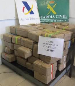 La Guardia Civil Realiza La Aprehensión Más Importante De Droga De Los Últimos C