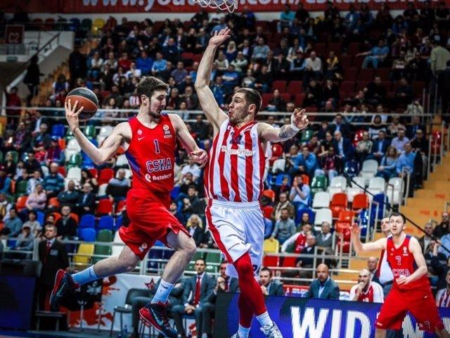CSKA Moscú Estrella Roja Euroliga