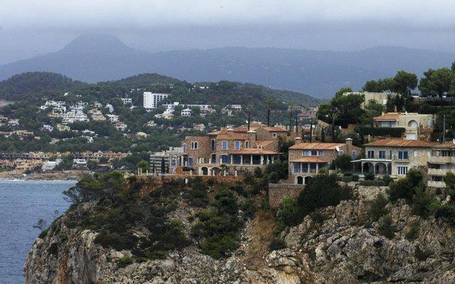 Viviendas en la costa en Islas Baleares