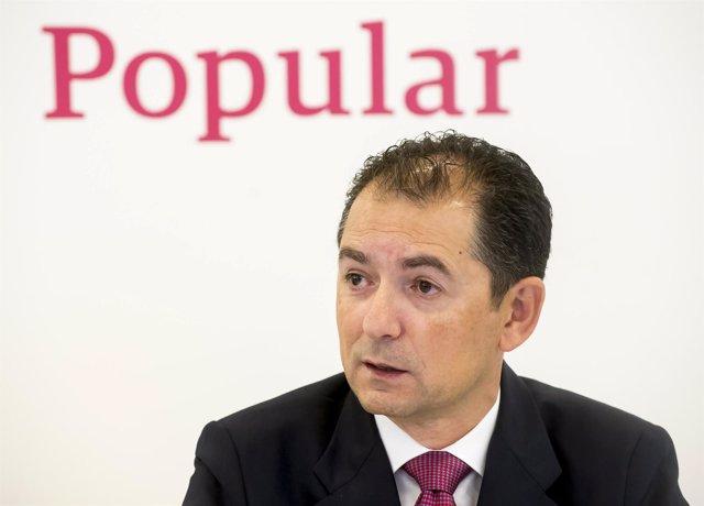 Francisco Gómez, consejero delegado de Banco Popular