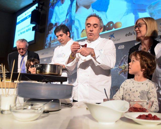 Ferran Adrià propone recetas saludables para cocinar en familia y ...