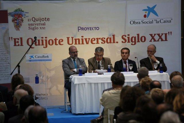 La Obra Social 'la Caixa' conmemora el IV centenario de la muerte de Cervantes