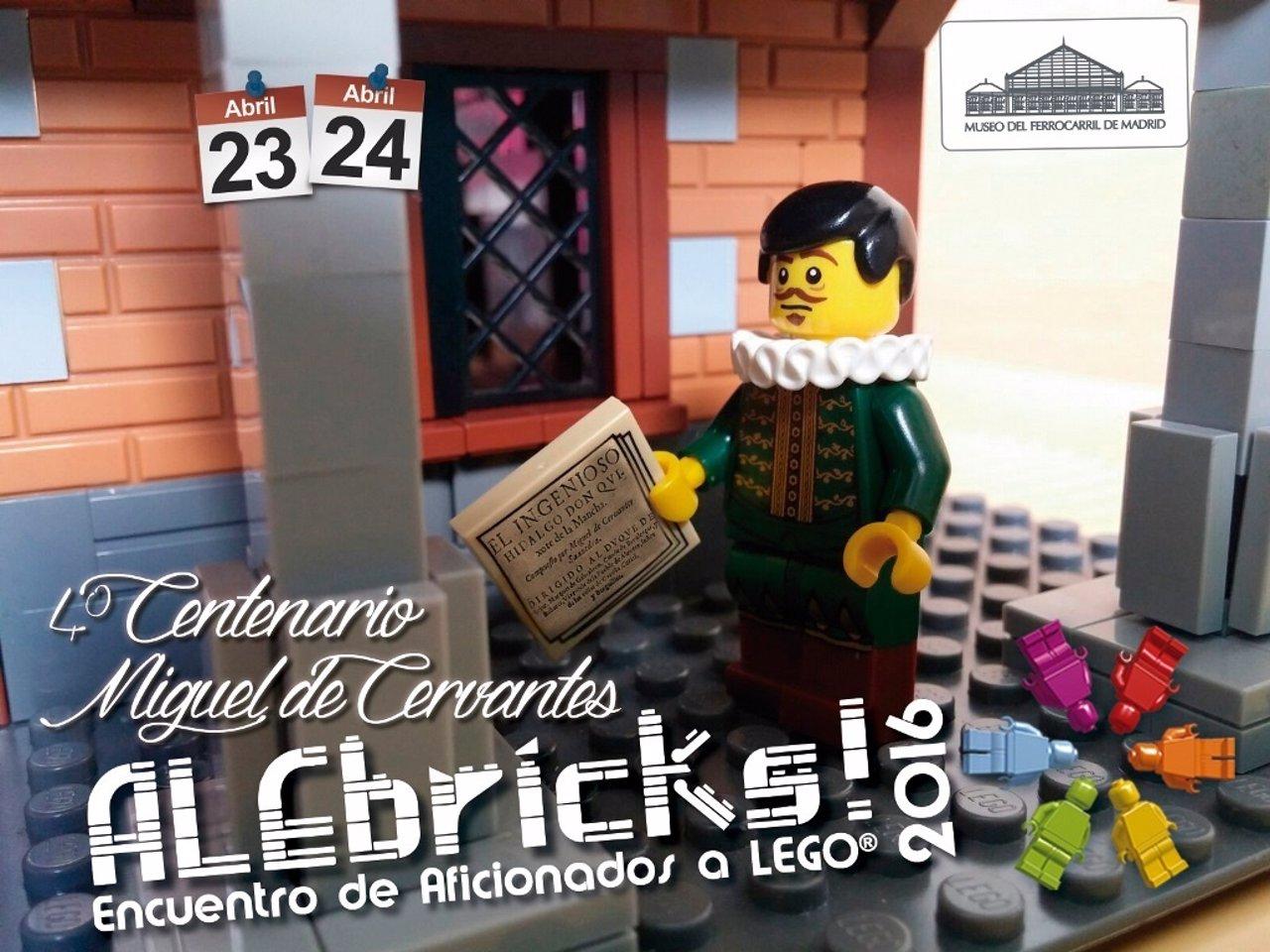 LEGO rinde homenaje a Cervantes