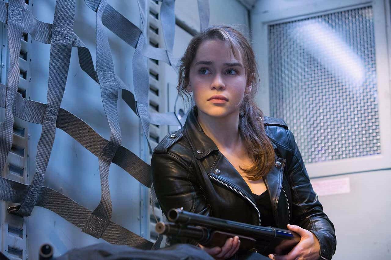 Emilia Clarke en Terminator