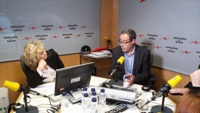 Pere Macias en Catalunya Ràdio
