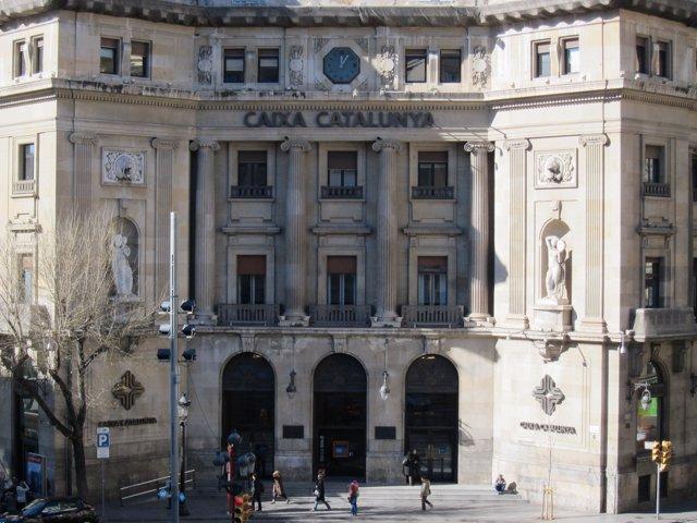 Sede de CatalunyaCaixa, CX, Catalunya Banc