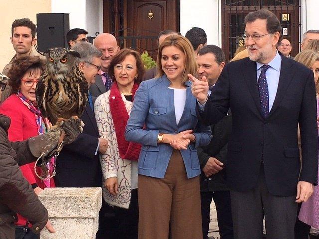 Rajoy en El Toboso