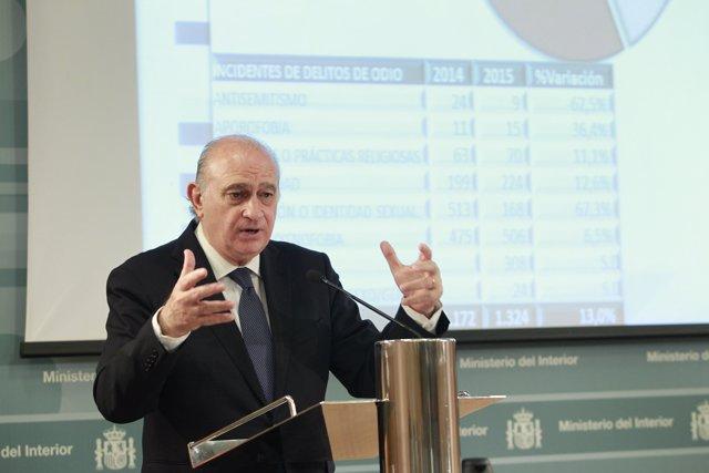 Rueda de prensa de Jorge Fernández Díaz