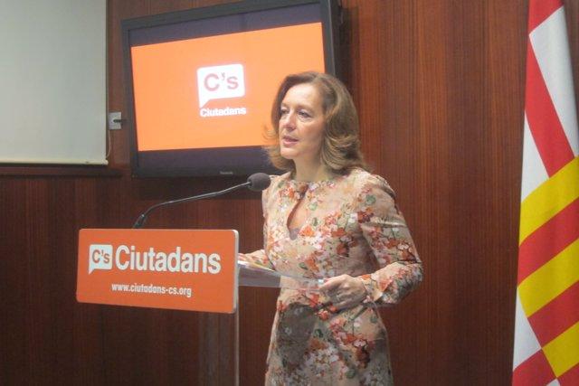 La líder de C's en Barcelona, Carina Mejías