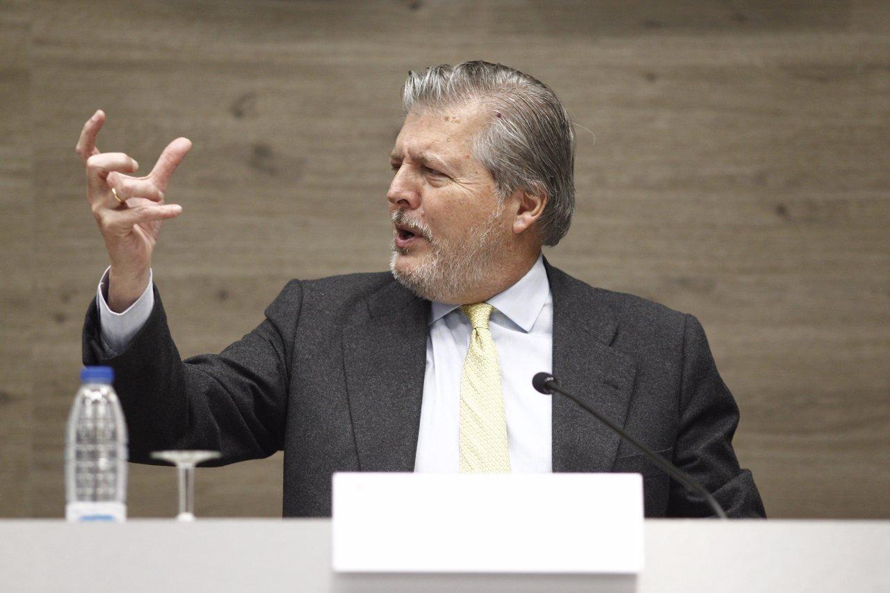 El ministro de Educación, Cultura y Deporte en funciones, Íñigo Méndez de Vigo,