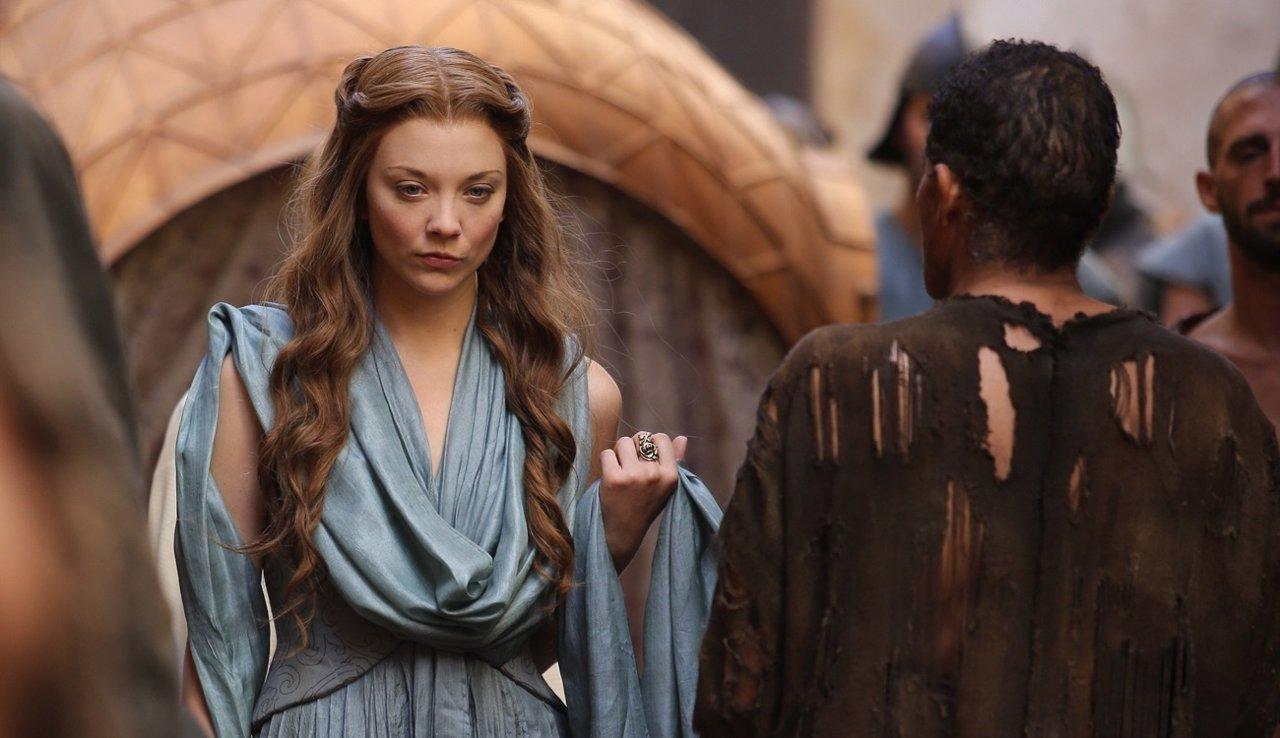 Natalie Dormer (Margaery Tyrell) en Juego de tronos