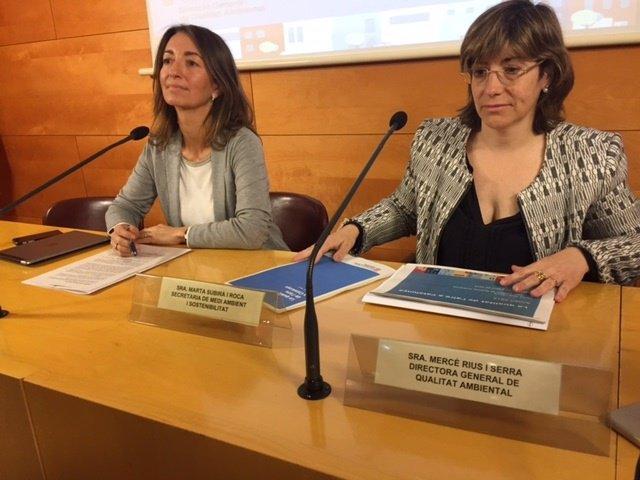 Presentación del anuario 2015 'La qualitat de l'aire a Catalunya'