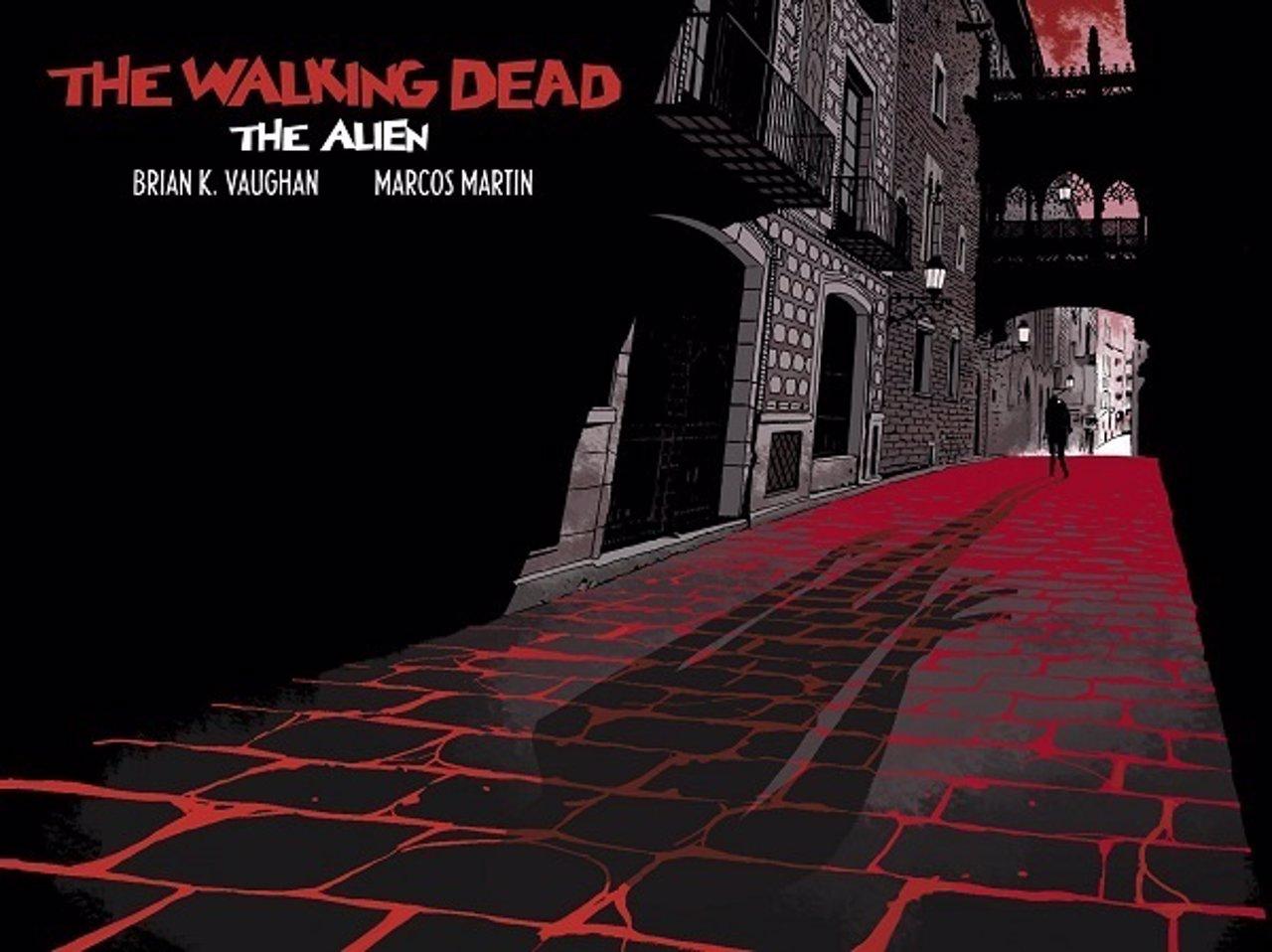 The Walking Dead: The Alien, un cómic de Panel Syndicate