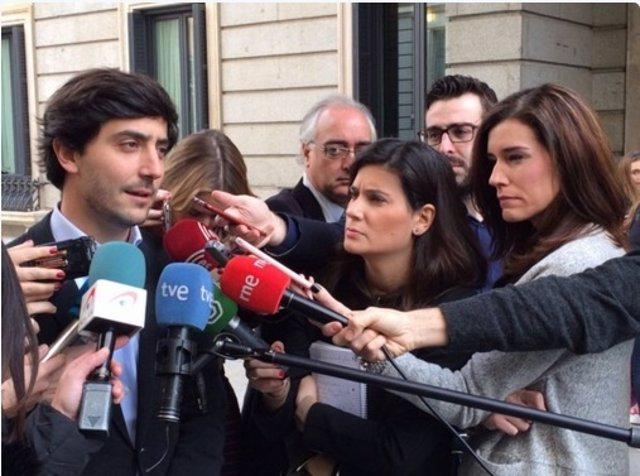 El portavoz parlamentario adjunto de Ciudadanos Toni Roldán