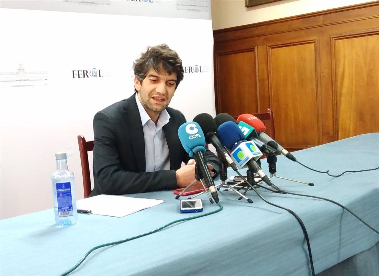 Alcalde de Ferrol, Xulio Ferreiro