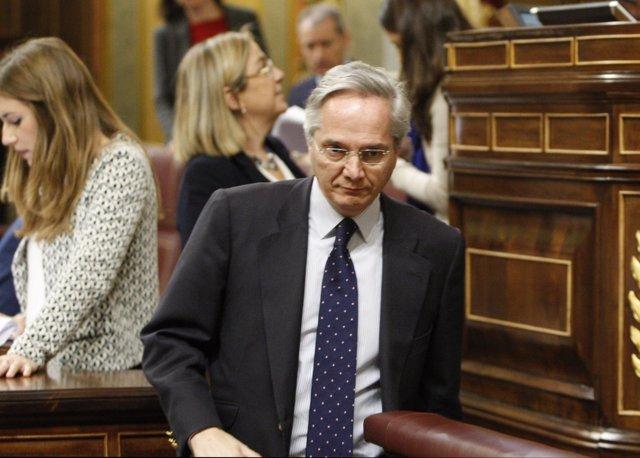 Pedro Gómez de la Serna acude al Congreso