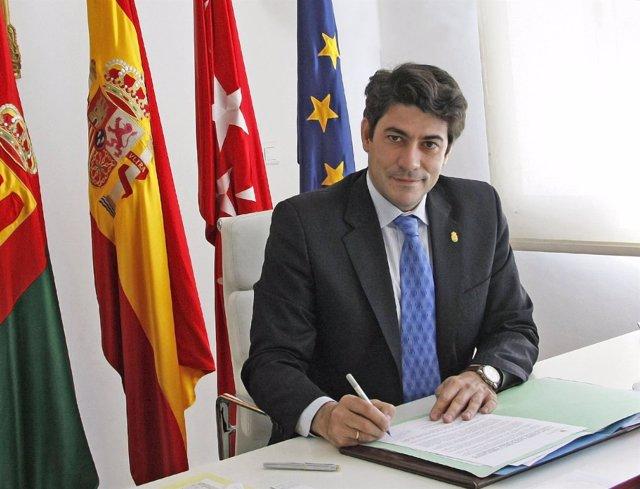 El alcalde de Alcorcón, David Pérez