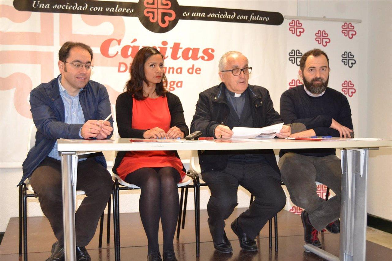 Cáritas Diocesa de Málaga cede apartamentos para refugiados